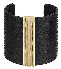 The Sak® Leather Wrapped Cuff Bracelet
