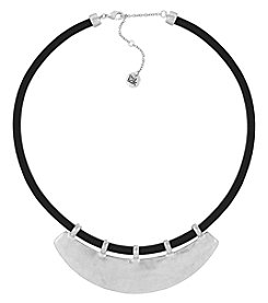 The Sak® Silvertone Bib Necklace
