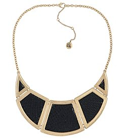 The Sak® Goldtone Inlay Panel Bib Necklace