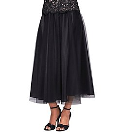 Alex Evenings® Tulle Tea-Length Party Skirt