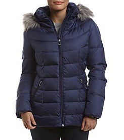Calvin Klein Petites' Quilted Box Jacket
