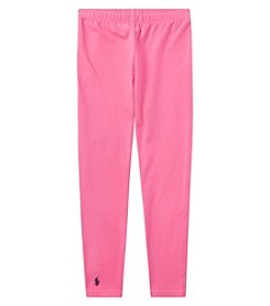 Ralph Lauren® Baby Girls' Jersey Leggings
