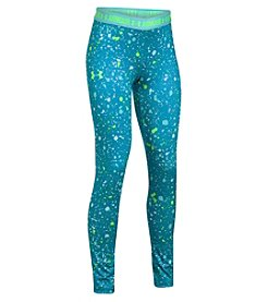 Under Armour® Girls 4-6X HeatGear® Armour Splatter Print Leggings