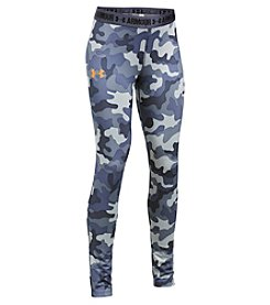 Under Armour® Girls' 4-6X HeatGear® Armour Camo Printed Leggings