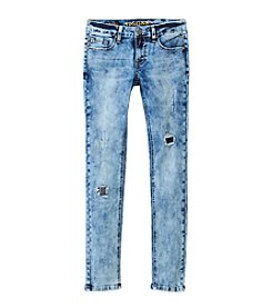 Vigoss® Girls' 7-16 Destructed Cloud Skinny Jeans