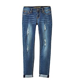 Vigoss® Girls' 7-16 Destructed Skinny Jeans
