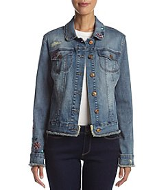 Vintage America Blues™ Lena Embroidered Denim Jacket