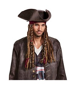 Disney® Pirates of the Caribbean 5™ Captain Jack Hat Bandana & Dreads