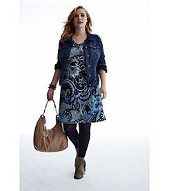 #dressobsessed Plus Size Fall Look