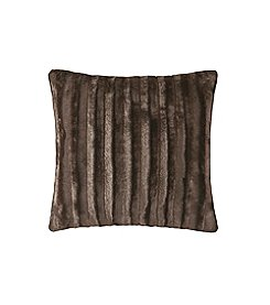 Madison Park Duke Faux Fur Square Pillow