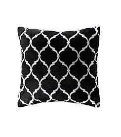 Madison Park Ogee Printed Microlight Square Pillow