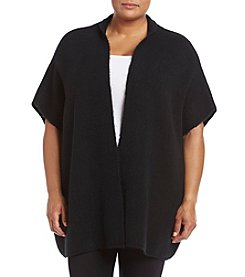 Ruff Hewn Plus Size Open Front Sweater
