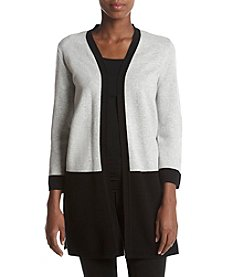 Kasper® Color Blocked Cardigan