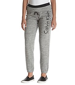 Calvin Klein Performance Slim Fit Rollover Sweatpants