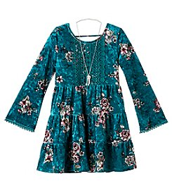 Beautees Girls' 7-16 Boho Lace Dress