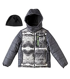 London Fog® Boys' 8-16 Heatwave Single Jacket