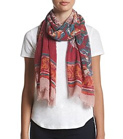 Collection 18 Tapestry Floral Wrap Scarf