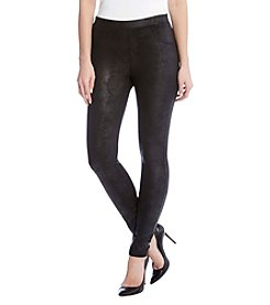 Karen Kane Faux-Leather Legging