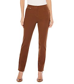 Rafaella® Petites' Cotton Twill Pants