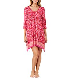 Ellen Tracy® Paisley Print Chemise Nightgown