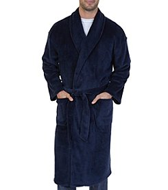 Nautica® Plush Shawl Collar Robe