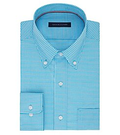 Tommy Hilfiger® Long Sleeve Gingham Button Down Dress Shirt