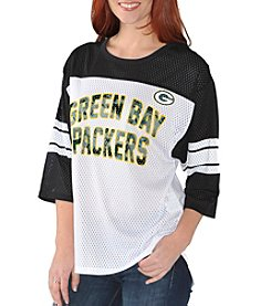 G III NFL® Green Bay Packers Women's First Team Mesh Tee