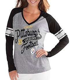 G III NFL® Pittsburgh Steelers Women's The Franchise Shirt