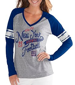 G III NFL® New York Giants Women's The Franchise Tee