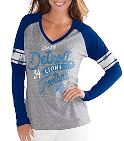 G III NFL® Detroit Lions Women's The Franchise Tee