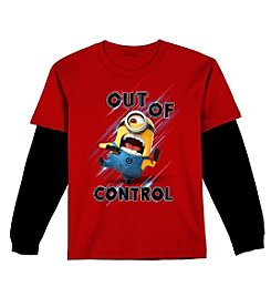 Despicable Me® Boys' 8-20 Minion Control Twofer Tee