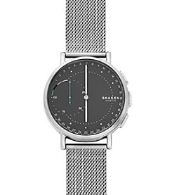 Skagen® Signatur Connected Steel-Mesh Hybrid Smartwatch