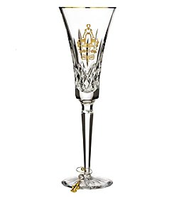 Waterford® 2017 Lismore Gold Maids Flute