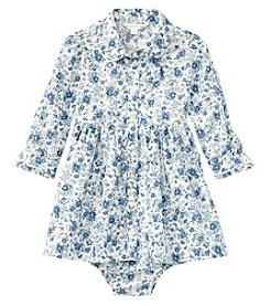 Ralph Lauren® Baby Girls' 3M-24M Floral Shirt Dress with Bloomers