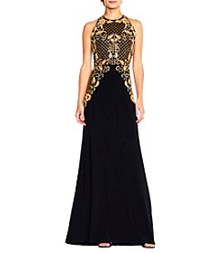 Adrianna Papell® Long Beaded Mermaid Dress