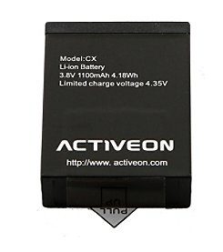 Activeon Rechargeable Battery for CX Camera
