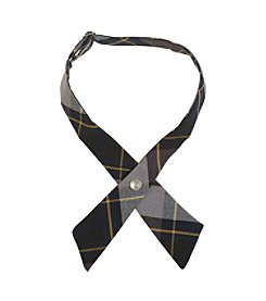 French Toast® Girls' One Size Adjustable Plaid Cross Tie