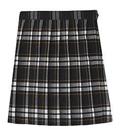 French Toast® Girls 4-20  Plaid Pleated Skirt