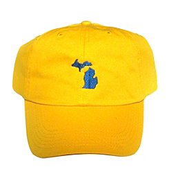 Gracie Designs Embroidered Michigan Baseball Cap
