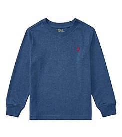 Polo Ralph Lauren® Boys 2T-20 Long Sleeve Jersey Sweater
