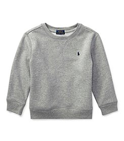 Polo Ralph Lauren Boys' 2T-20 Long Sleeve Polo Crew Shirt