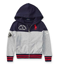 Polo Ralph Lauren® Boys' 2T-20 Terry Full Zip Top