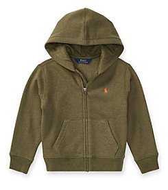 Polo Ralph Lauren® Boys' 2T-20 Long Sleeve Full Zip Hoodie