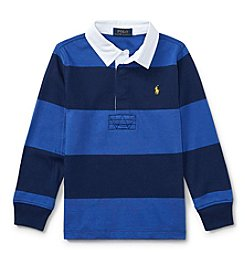 Polo Ralph Lauren® Boys' 2T-20 Long Sleeve Rugby Top