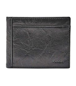 Fossil boston store fossil mens neel tri fold wallet colourmoves