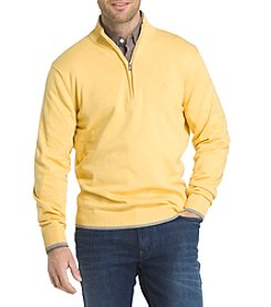 IZOD® Men's Long Sleeve Fieldhouse Sweater