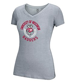 J. America® NCAA® Wisconsin Badgers Women's V-Neck