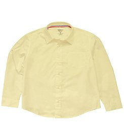 French Toast® Boys' 2T-20 Long Sleeve Dress Shirt with Expandable Collar