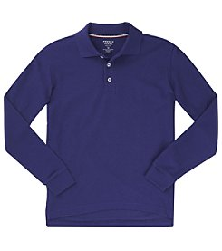 French Toast® Boys' 2T-20 Long Sleeve Pique Polo