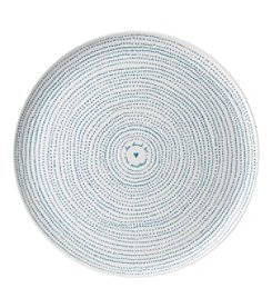 ED Ellen DeGeneres Crafted by Royal Doulton® Polar Blue Dots Serving Platter